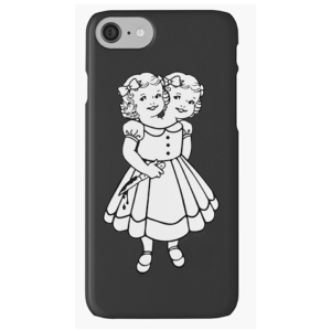The Two-Headed Girl iPhone Case